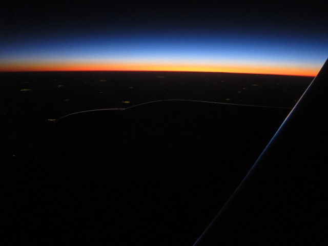 Approaching Buenos Aires